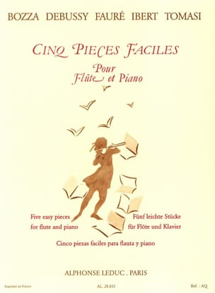 - Five Easy Pieces - Flute and Piano - Sheet Music - di-arezzo.com
