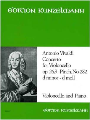 Concerto Violoncelle, op. 26 n° 9, P. 282, ré mineur laflutedepan