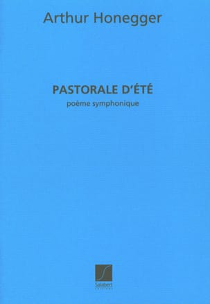 Arthur Honegger - Summer pastoral - Sheet Music - di-arezzo.co.uk