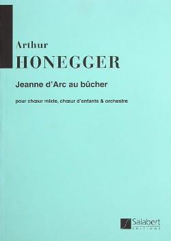Jeanne d' Arc au bûcher – Conducteur - laflutedepan.com