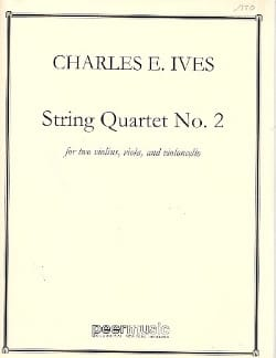 Charles E. Ives - String quartet n ° 2 - Score - Sheet Music - di-arezzo.co.uk