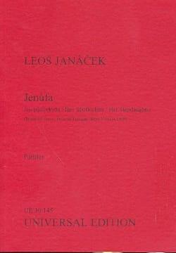 Jenufa - Conducteur Leos Janacek Partition Grand format - laflutedepan