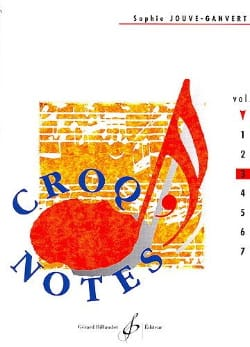 Sophie Jouve-Ganvert - Croq 'Notes - Volume 3 - Sheet Music - di-arezzo.com