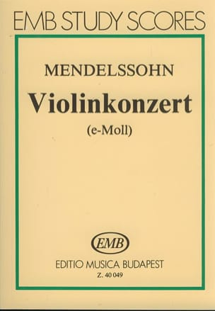 MENDELSSOHN - Violonkonzert op. 64 - Partitur - Partitura - di-arezzo.es
