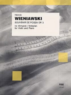 Souvenir de Posen op. 3 - WIENIAWSKI - Partition - laflutedepan.com