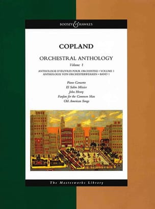 Aaron Copland - Orchestral Anthology Volume 1 - Conducteur - Partition - di-arezzo.fr