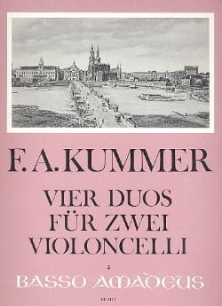 Friedrich-August Kummer - 2つのバイオニッポンのための4つのデュエット - 楽譜 - di-arezzo.jp
