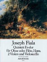 Joseph Fiala - Quintett Es Dur – Oboe (Flöte) Horn 2 Violen Cello - Partitur + Stimmen - Partition - di-arezzo.fr
