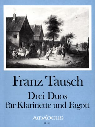 Franz Tausch - 3 Duos - Klarinette Fagott - Sheet Music - di-arezzo.co.uk