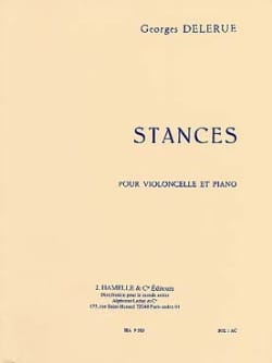 Georges Delerue - stances - Sheet Music - di-arezzo.com