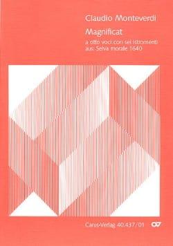 Claudio Monteverdi - Magnificat a 8 voci con 6 istrumenti - Partitur - Partition - di-arezzo.fr