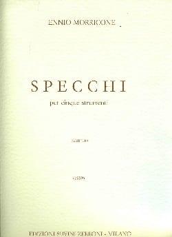 Ennio Morricone - Specchi – Partitura - Partition - di-arezzo.fr