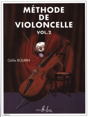 Odile Bourin - Metodo per violoncello, volume 2 - Partitura - di-arezzo.it