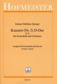 Konzert n°2 D-Dur, T 2 – Kontrabass - laflutedepan.com