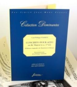 Carl Stamitz - Concerto pour Alto en ré majeur – Fac-Similé - Partition - di-arezzo.fr