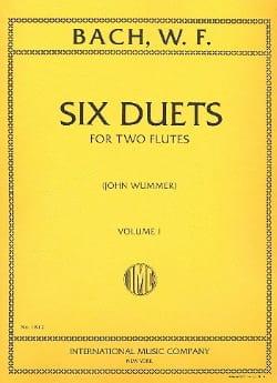 Wilhelm Friedemann Bach - 6 Duetos - Volumen 1 - 2 Flautas - Partitura - di-arezzo.es