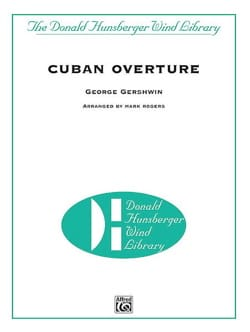George Gershwin - Cuban Overture - Conducteur - Partition - di-arezzo.fr