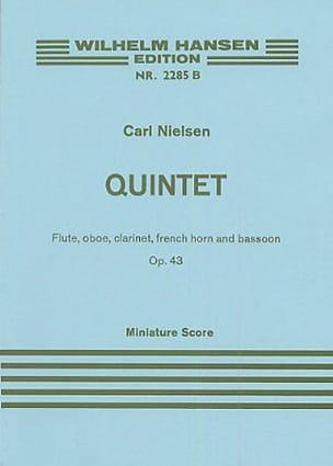 Carl Nielsen - Quintette op. 43 - Score - Partition - di-arezzo.fr
