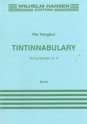 Tintinnabulary (String quartet n° 6) – Score - laflutedepan.com