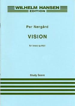 Vision - Brass Quintet – Score - Per Norgard - laflutedepan.com