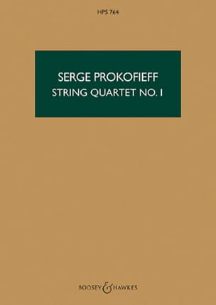 String quartet n° 1 op. 50 - Score - laflutedepan.com