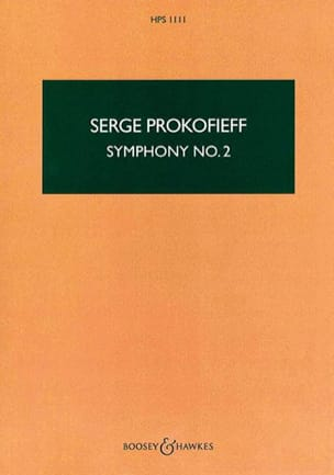 Serge Prokofiev - Symphony No. 2 - Score - Sheet Music - di-arezzo.co.uk