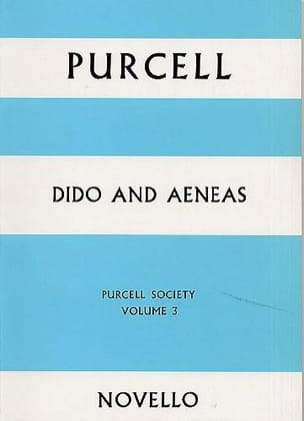 Dido and Aeneas - Score PURCELL Partition Grand format - laflutedepan