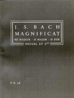 BACH - Magnificat en ré majeur - Conducteur - Partition - di-arezzo.fr