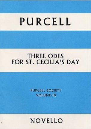 Henry Purcell - 3 Odes for St. Cecilia's Day - Score - Partition - di-arezzo.fr