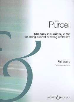 Purcell Henry / Britten Benjamin - Chacony in G minor 730 for strings - Score - Sheet Music - di-arezzo.com