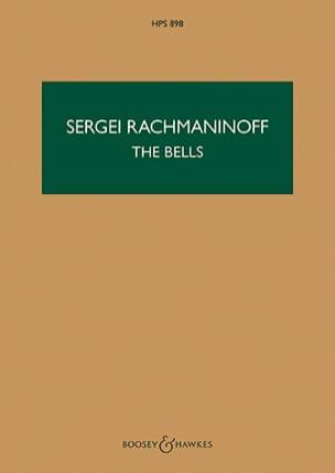The Bells, Opus 35 - Conducteur - Serge Rachmaninov - laflutedepan.com