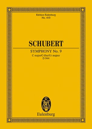 SCHUBERT - Symphonie Nr. 8 Früher 7 O. 9 C-Dur - Partition - di-arezzo.fr