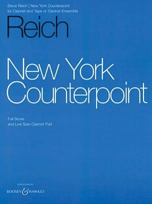 New York Counterpoint - Full Score + Solo Steve Reich laflutedepan