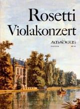 Antonio (Rösler) Rosetti - Violakonzert G-Dur - Partitur - Sheet Music - di-arezzo.co.uk
