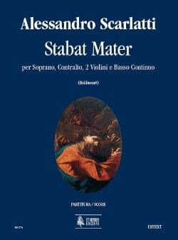 Alessandro Scarlatti - Stabat Mater – Conducteur - Partition - di-arezzo.fr