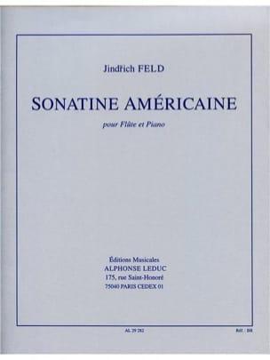 Sonatine Américaine - Jindrich Feld - Partition - laflutedepan.com