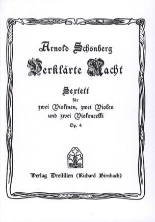 Arnold Schoenberg - Verklärte Nacht op. 4 Sextett - Partitur - Partitura - di-arezzo.es