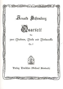 Arnold Schoenberg - Streichquartett Nr. 1 op. 7 - Partitur - Sheet Music - di-arezzo.co.uk