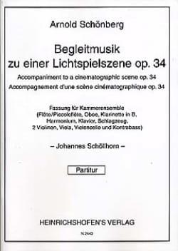 Begleitmusik zu einer Lichtspielszene op. 34 - Partitur - laflutedepan.com