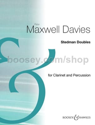 Davies Peter Maxwell - Stedman Doubles - Partition - di-arezzo.fr