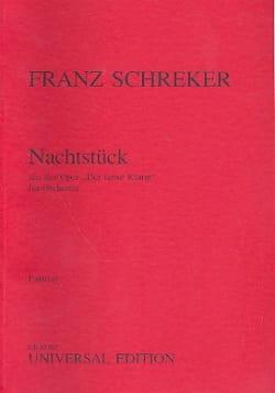 Nachtstück – Partitur - Franz Schreker - Partition - laflutedepan.com