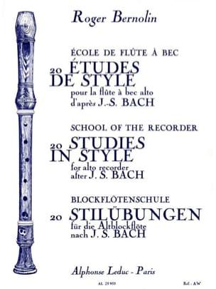 BACH - 20 estudios de estilo - Partitura - di-arezzo.es
