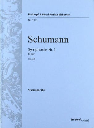 SCHUMANN - Symphony No. 1 in Bb M., Op. 38 - Conductor - Sheet Music - di-arezzo.com