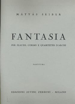 Matyas Seiber - Fantasia - Partitura - Sheet Music - di-arezzo.co.uk