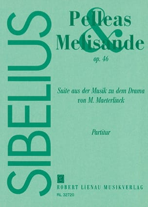 Jean Sibelius - Pelleas and Melisande, op. 46 - Partitur - Sheet Music - di-arezzo.co.uk