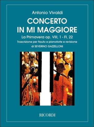 Concerto en Mi Maj. La Primavera op. 8 n° 1 - Flauto pianoforte laflutedepan
