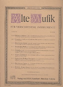 Konzert G-Dur für Flöte – Partitur - Carl Stamitz - laflutedepan.com