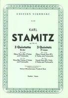 3 Quintette Es-Dur op. 11 Nr. 1-3 – Partitur - laflutedepan.com