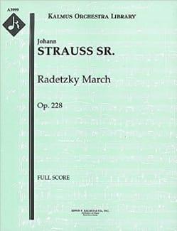 Radetzky March, op. 228 - Score - Johann Strauss - laflutedepan.com