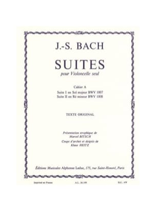 BACH - Suites, Book A - Sheet Music - di-arezzo.co.uk